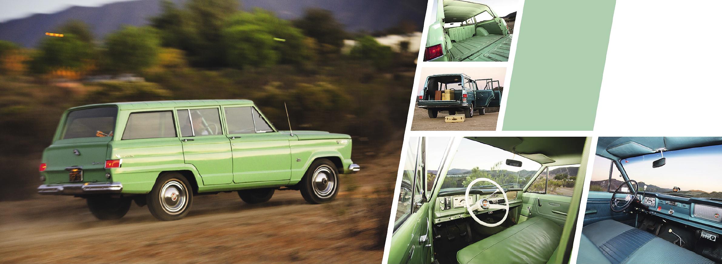 America's off-road pioneer - Jeep Wagoneer