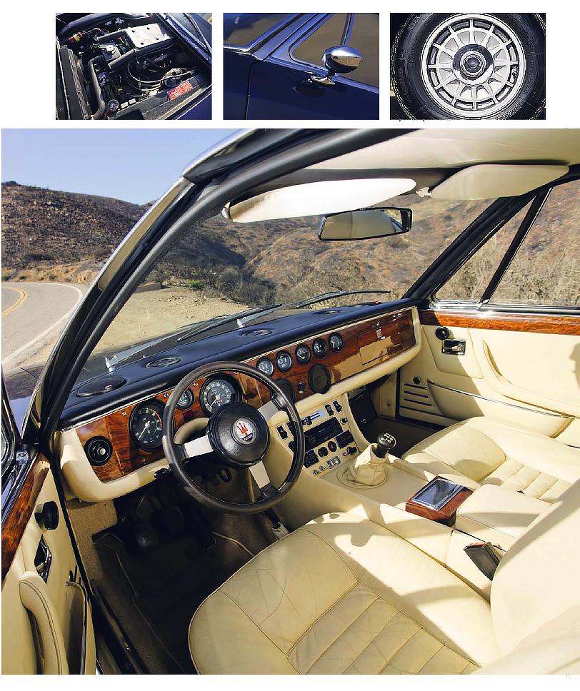 Frua's family supercar - Maserati Quattroporte