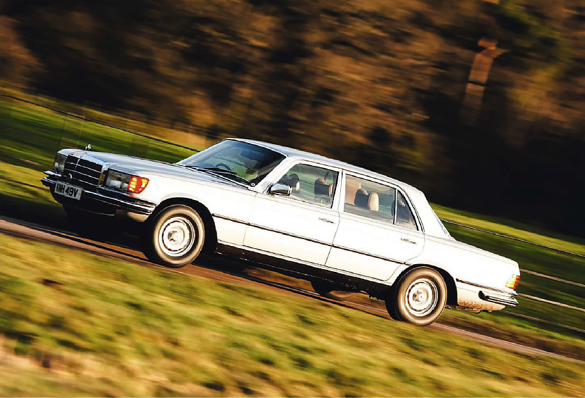 Mercedes-Benz 300SEL 6.3 W109 and its successor 450SEL 6.9 W116