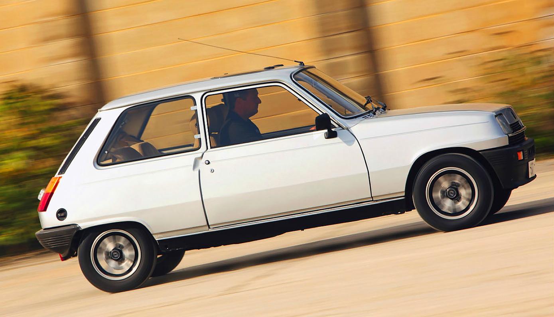 Renault 5 TX test
