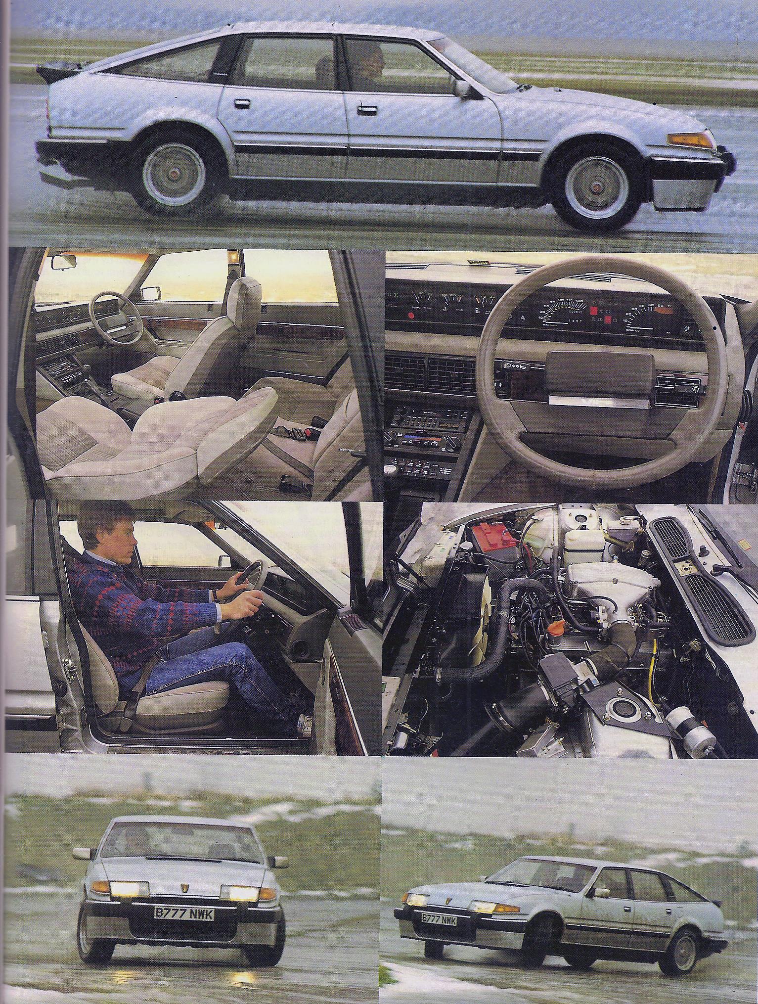 test drive Rover Vitesse