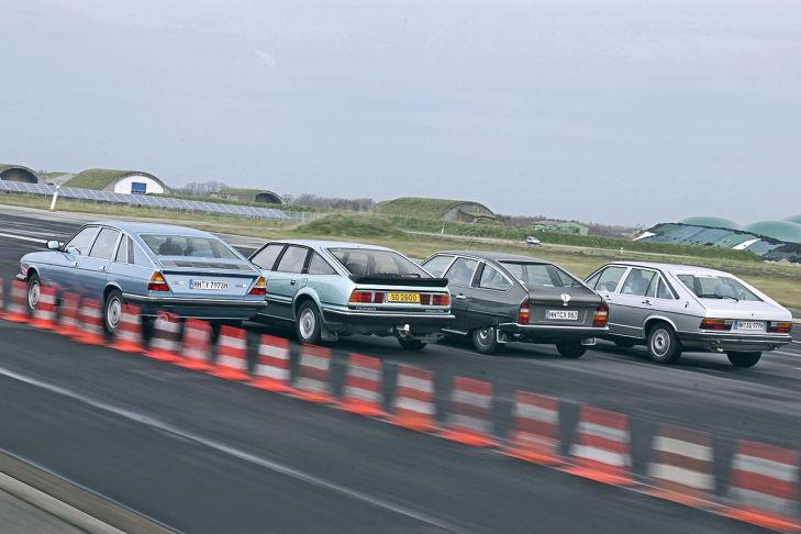 Тест-драйв Audi 100 Avant 5E, Citroen CX 2400, Lancia Gamma 2500 и Rover SD1 2600