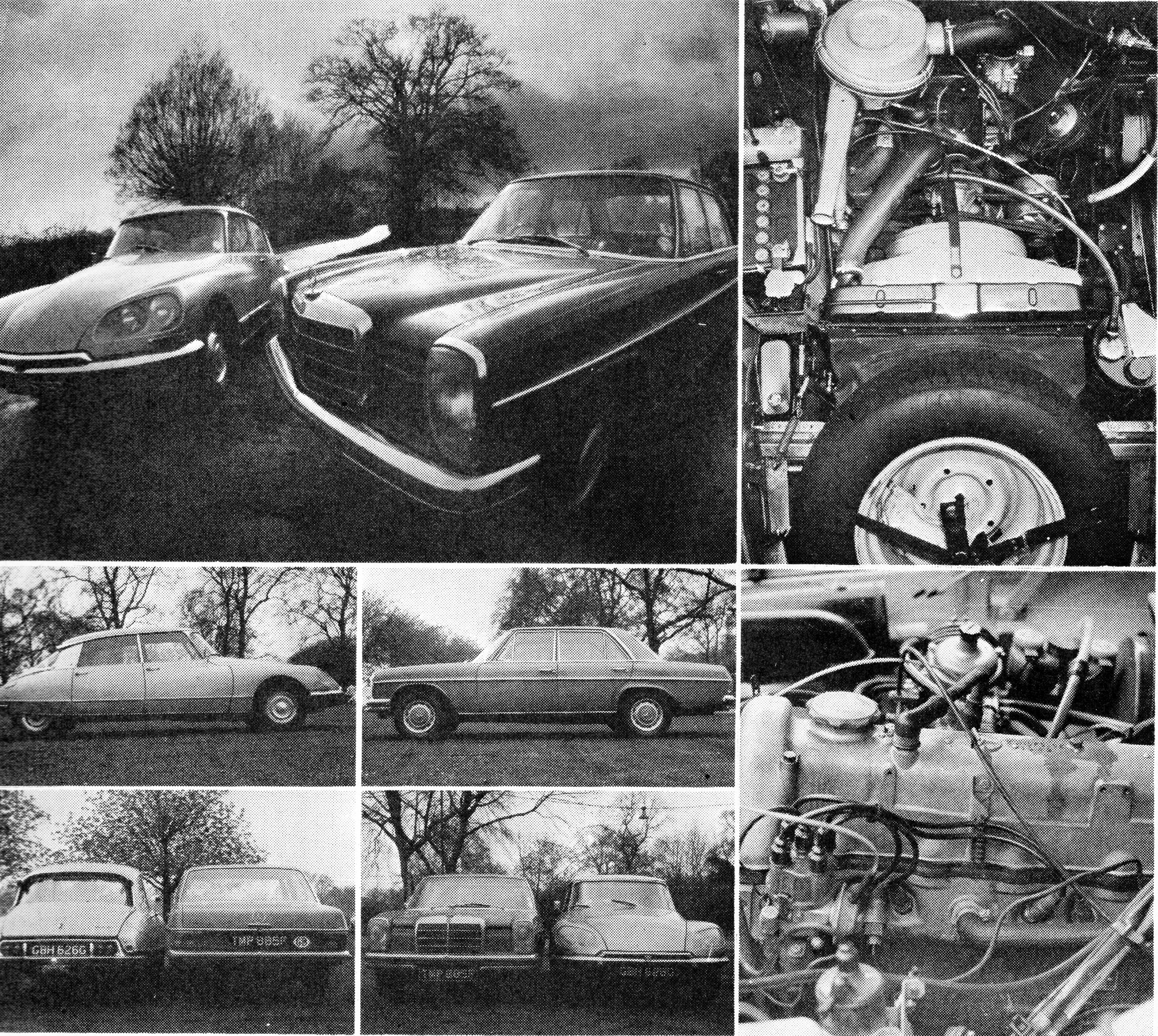 test Citroen DS21 Pallas vs Mercedes-Benz 220 W115