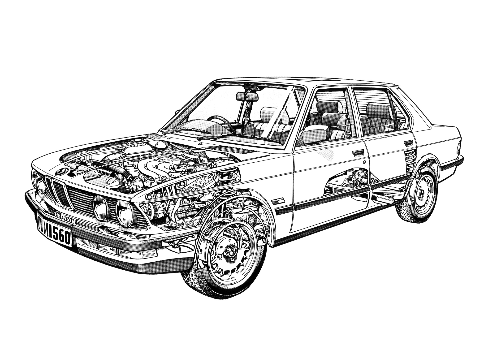 BMW 525e UK-spec (E28) '09.1981–12.1987