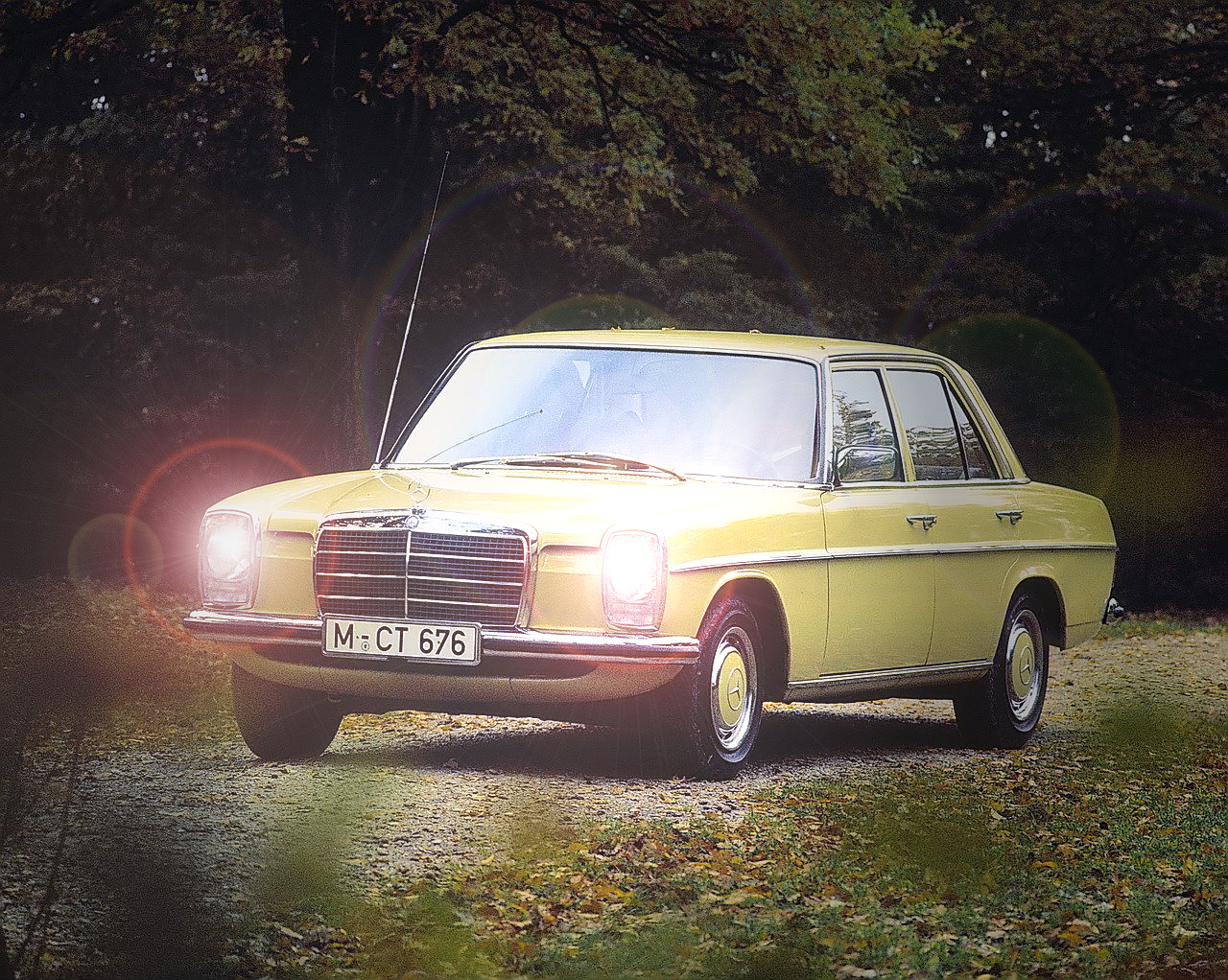Test Mercedes-Benz 280E Executive W114
