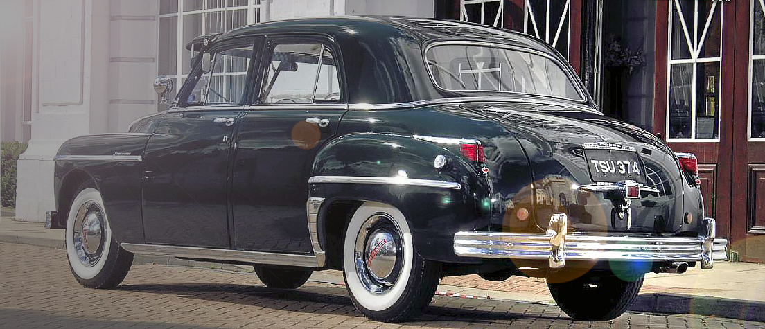 1948 Dodge Kingsway - mystery car