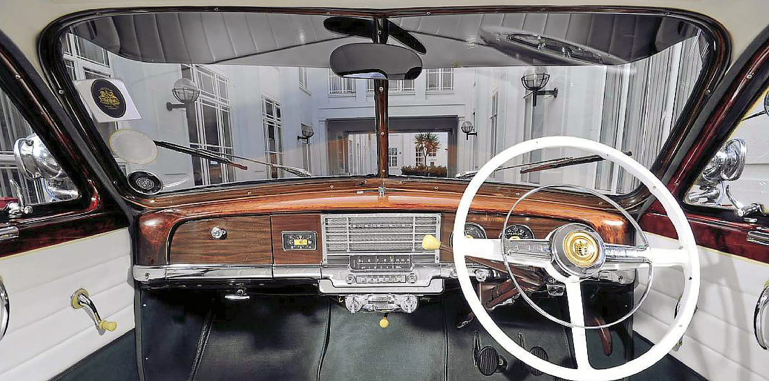 1948 Dodge Kingsway - interior