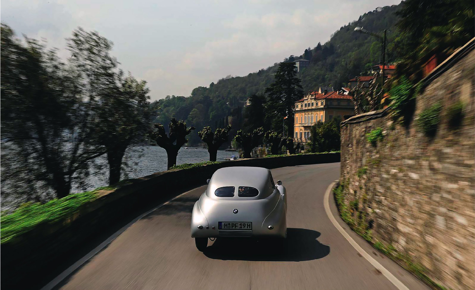 Italy road - BMW 328 Kamm Coupe
