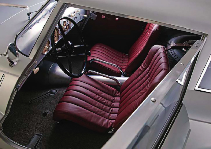BMW 328 Kamm Coupe - interior