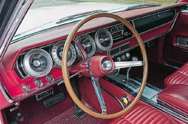 Dodge Charger - interior