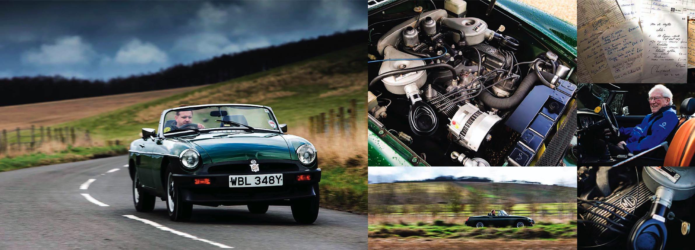 ; Hayter has fond memories of his B; first MG-badged rocker covers