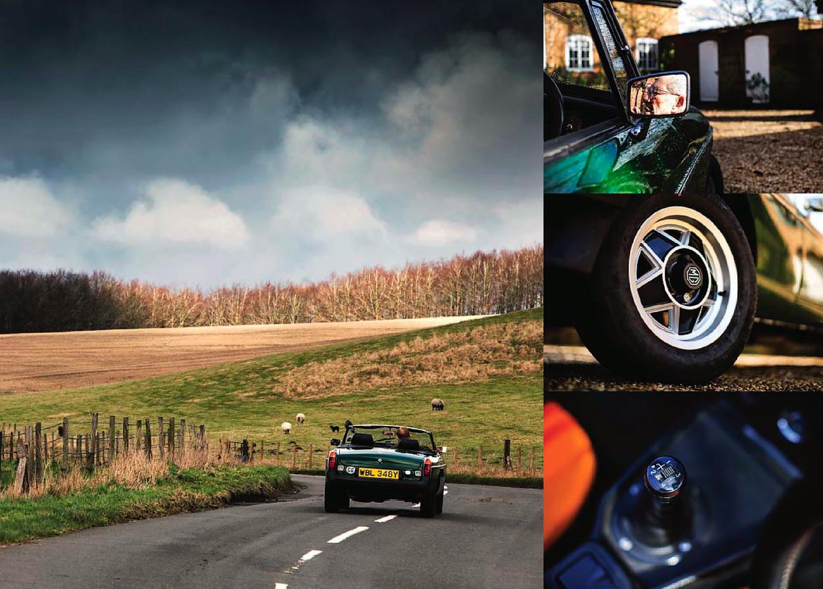 Don Hayter and MGB V8 roadster