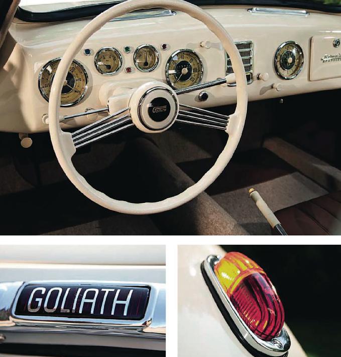 Goliath GP700 Sportcoupe - interior