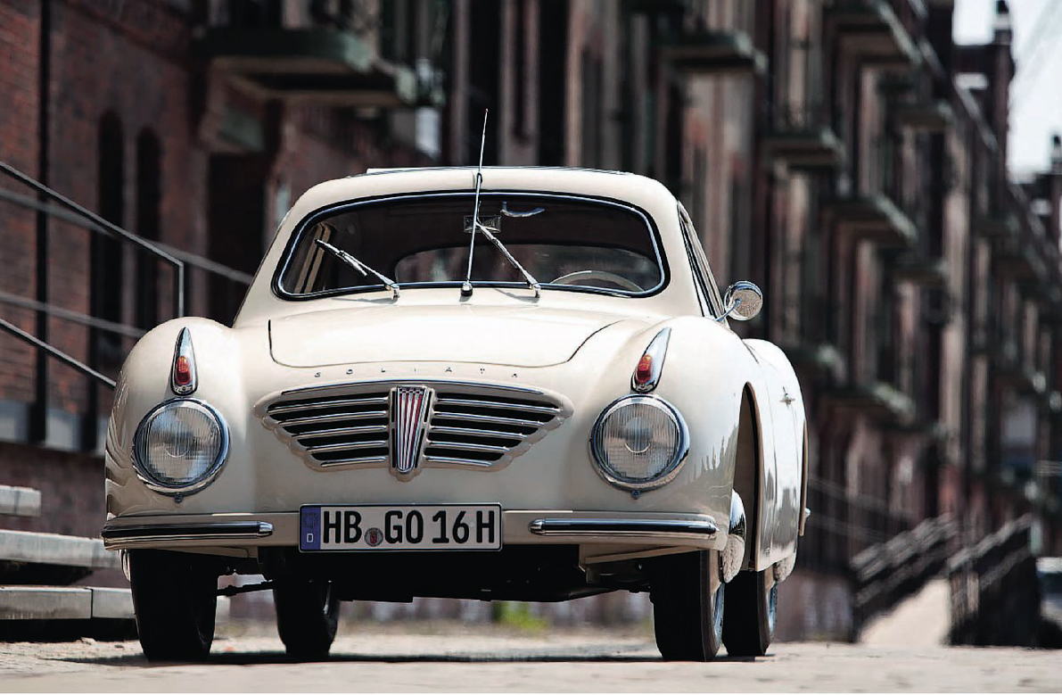 Stylish Goliath GP700 Sportcoupe more exclusive than a Porsche 356
