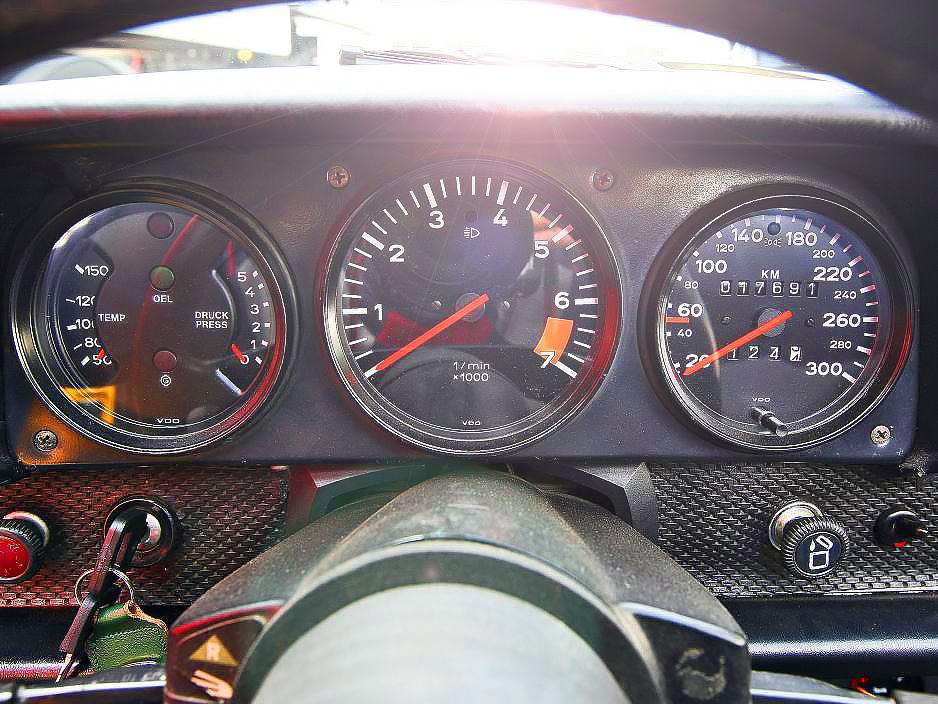 dashboard - Porsche 914/6