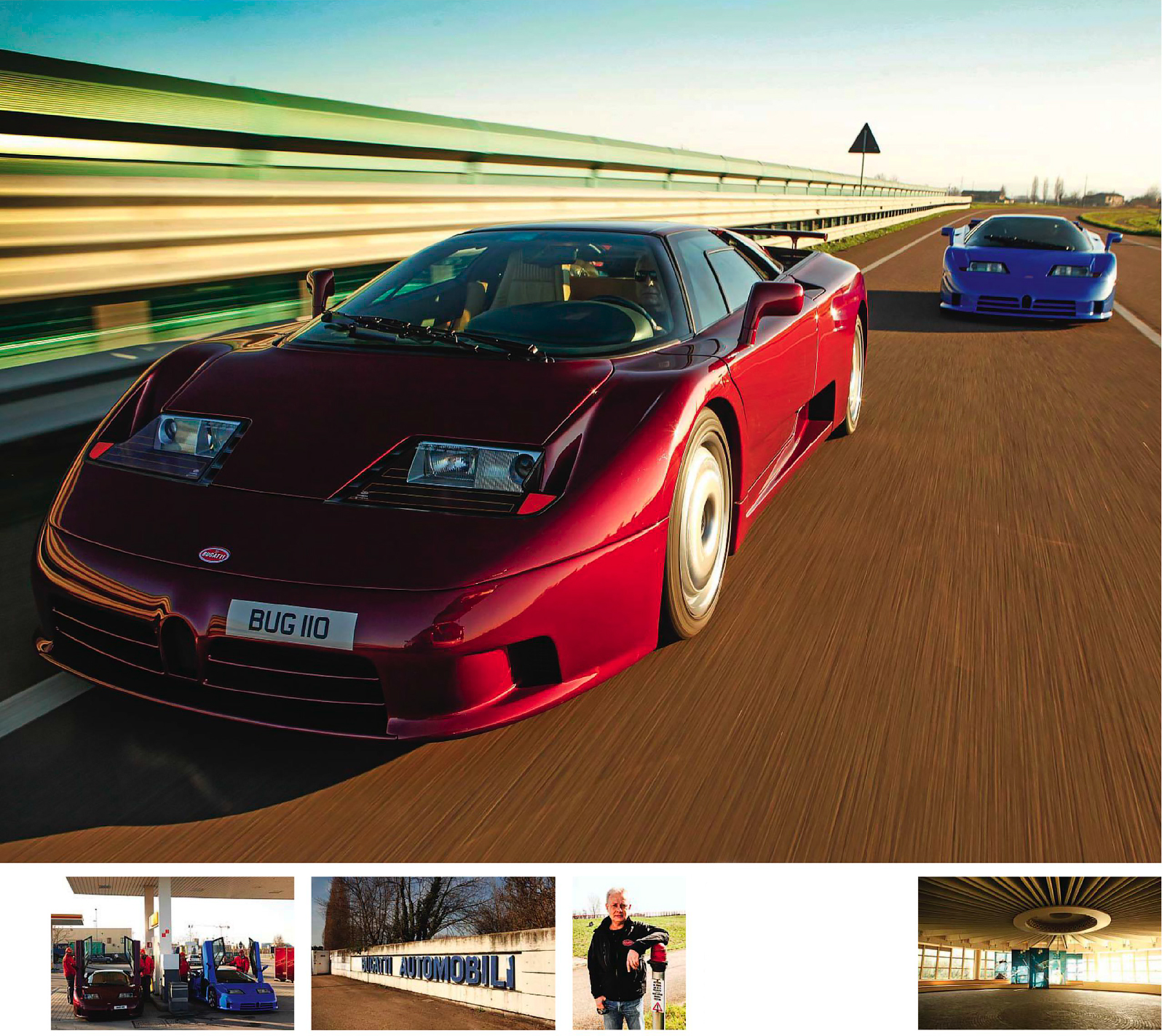 Road test - Bugatti EB110 and EB110SS