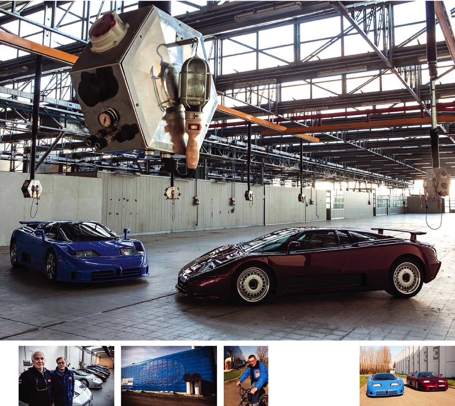 Road test - Bugatti EB110 and EB110SS