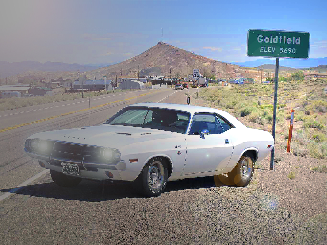 anishing Point - Dodge Challenger R/T 440