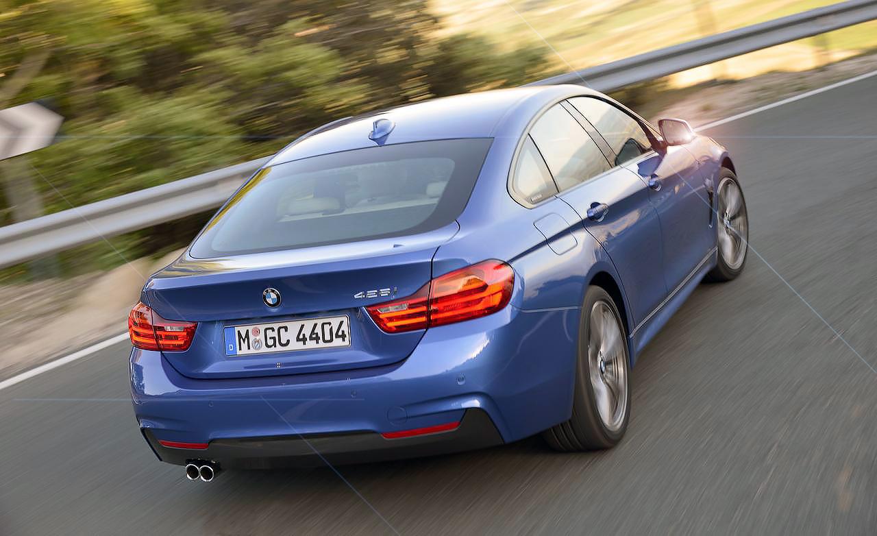Тест-драйв BMW четвертой серии Gran Coupe с заводским обозначением F36