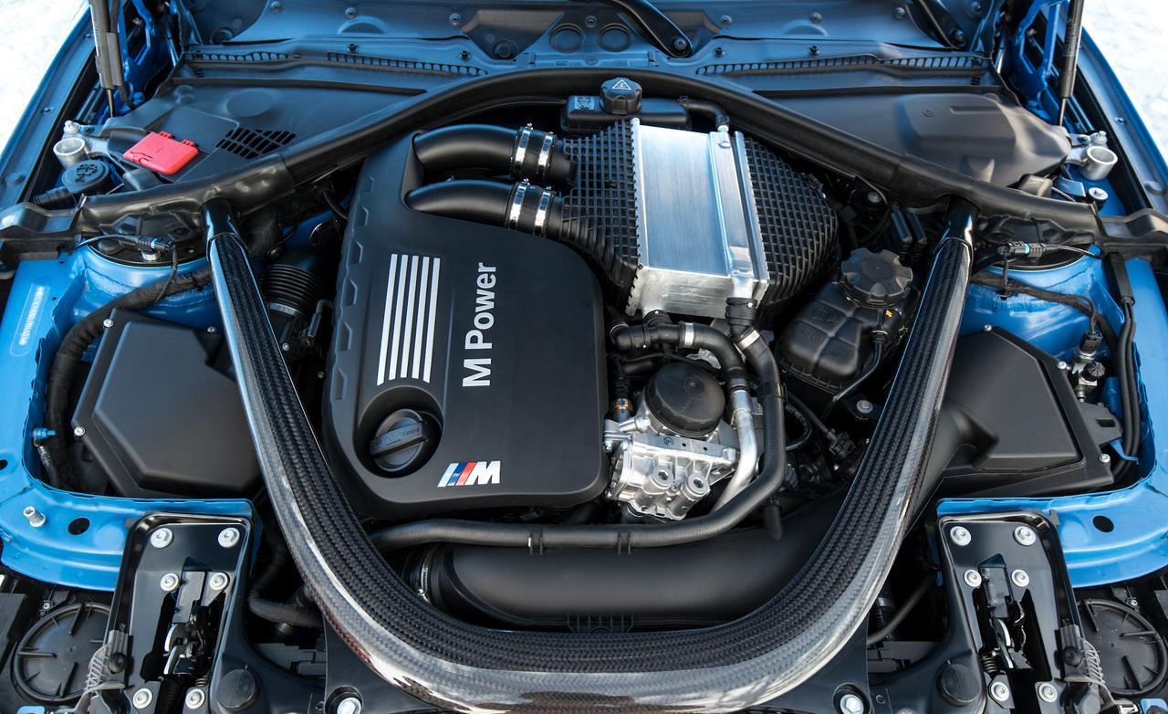 под капотом у BMW M3 F30