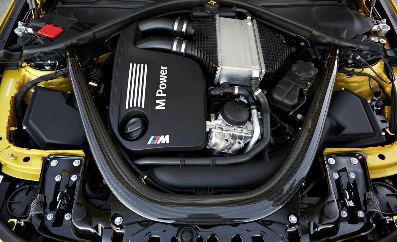 BMW M4 F82 - мотор