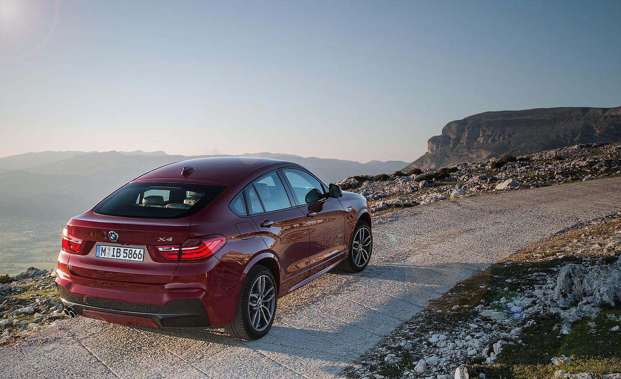 Тест-драйв нового BMW X4 F26