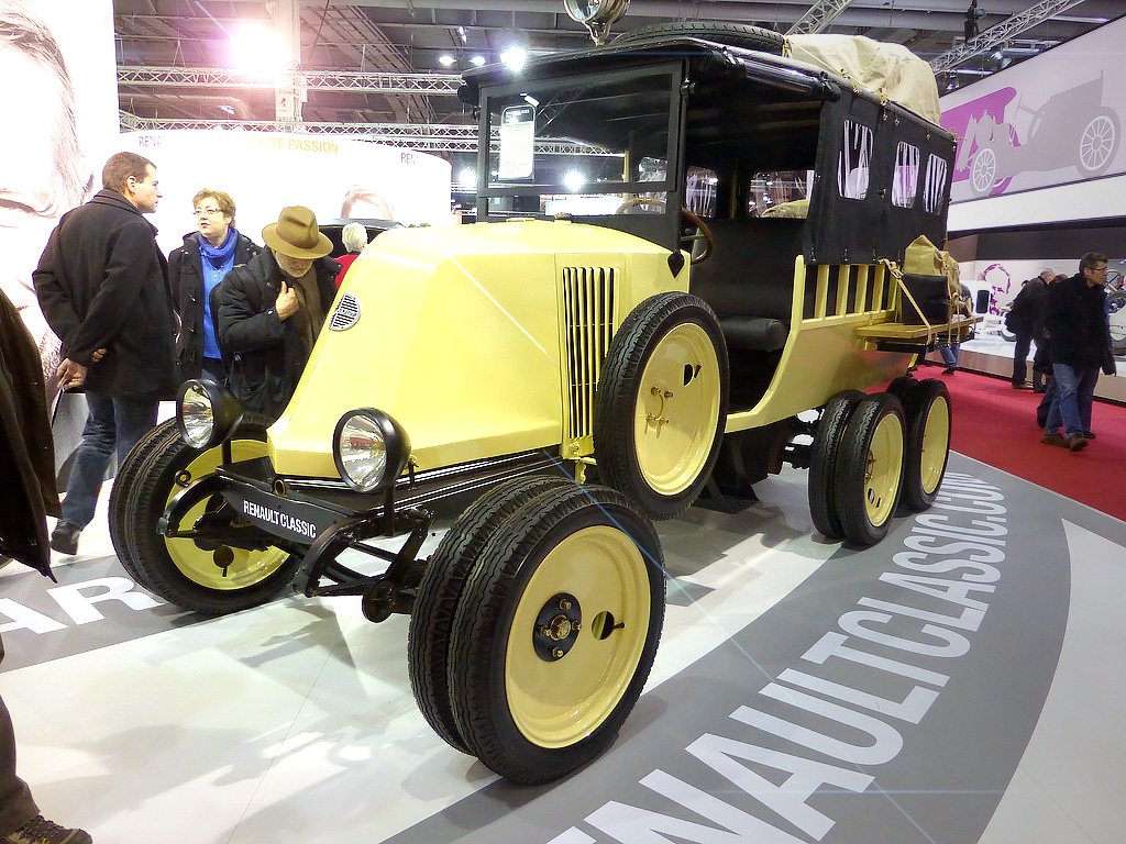 1924 Renault Type MH - 38th Retromobile