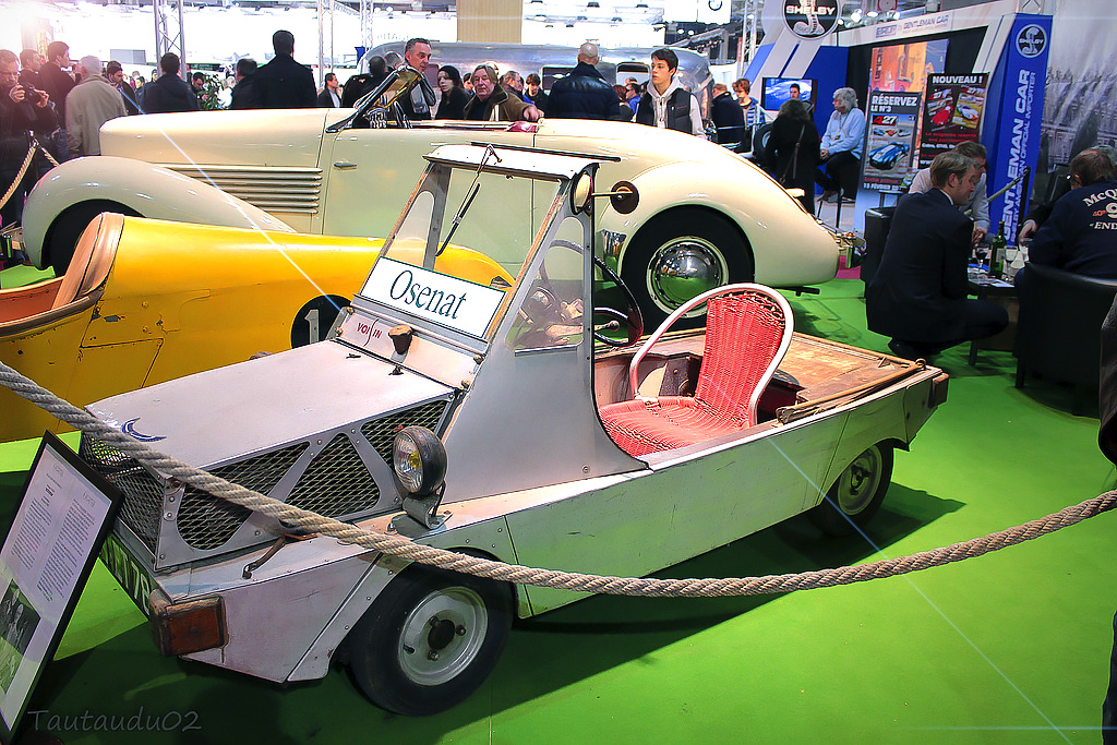 1956 Voisin Monoplace du Facteur - 38th Retromobile