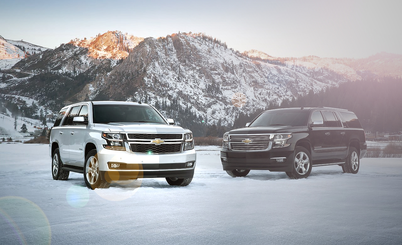 2015 Chevrolet Tahoe and Suburban