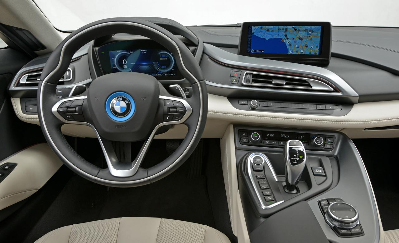 BMW i8 first drive