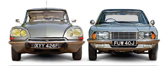 Group tests - Citroen ID19 Luxe vs NSU Ro80