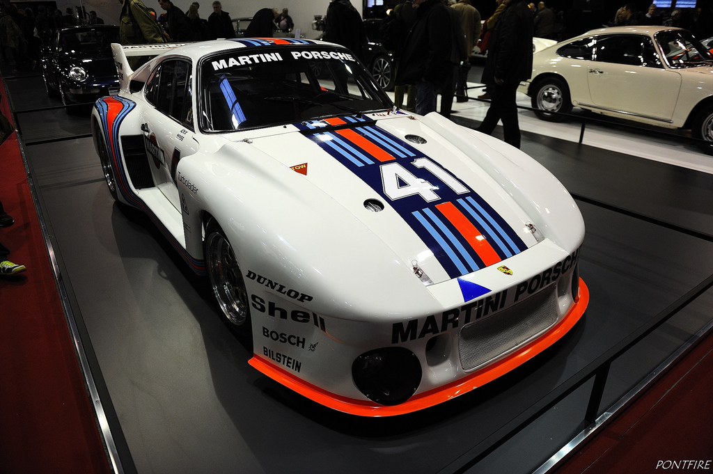Porsche 935 Martini Racing - 38th Retromobile