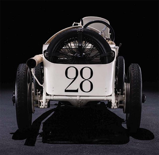 1914 French GP - 1914 Mercedes Grand Prix Car