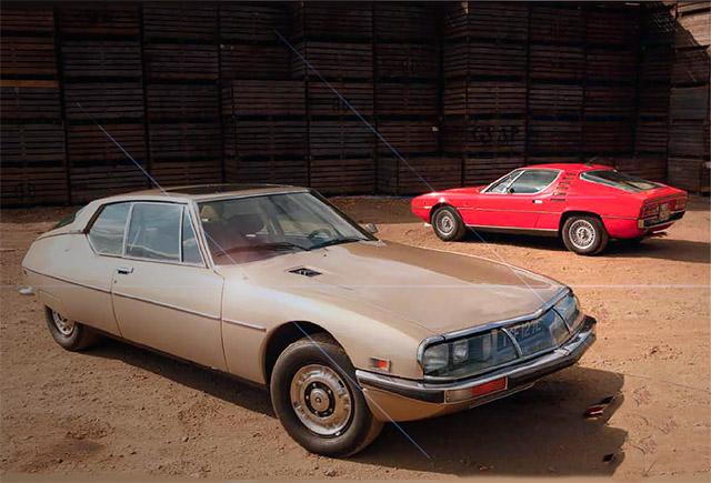 Alfa Romeo Montreal vs Citroen SM