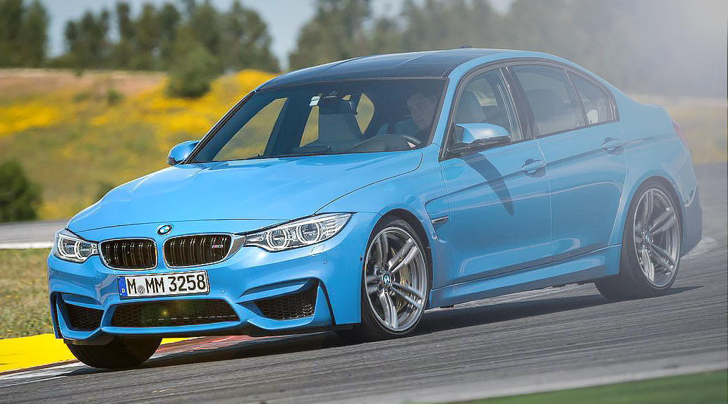 Giant test BMW M3 F80 and M4 F82