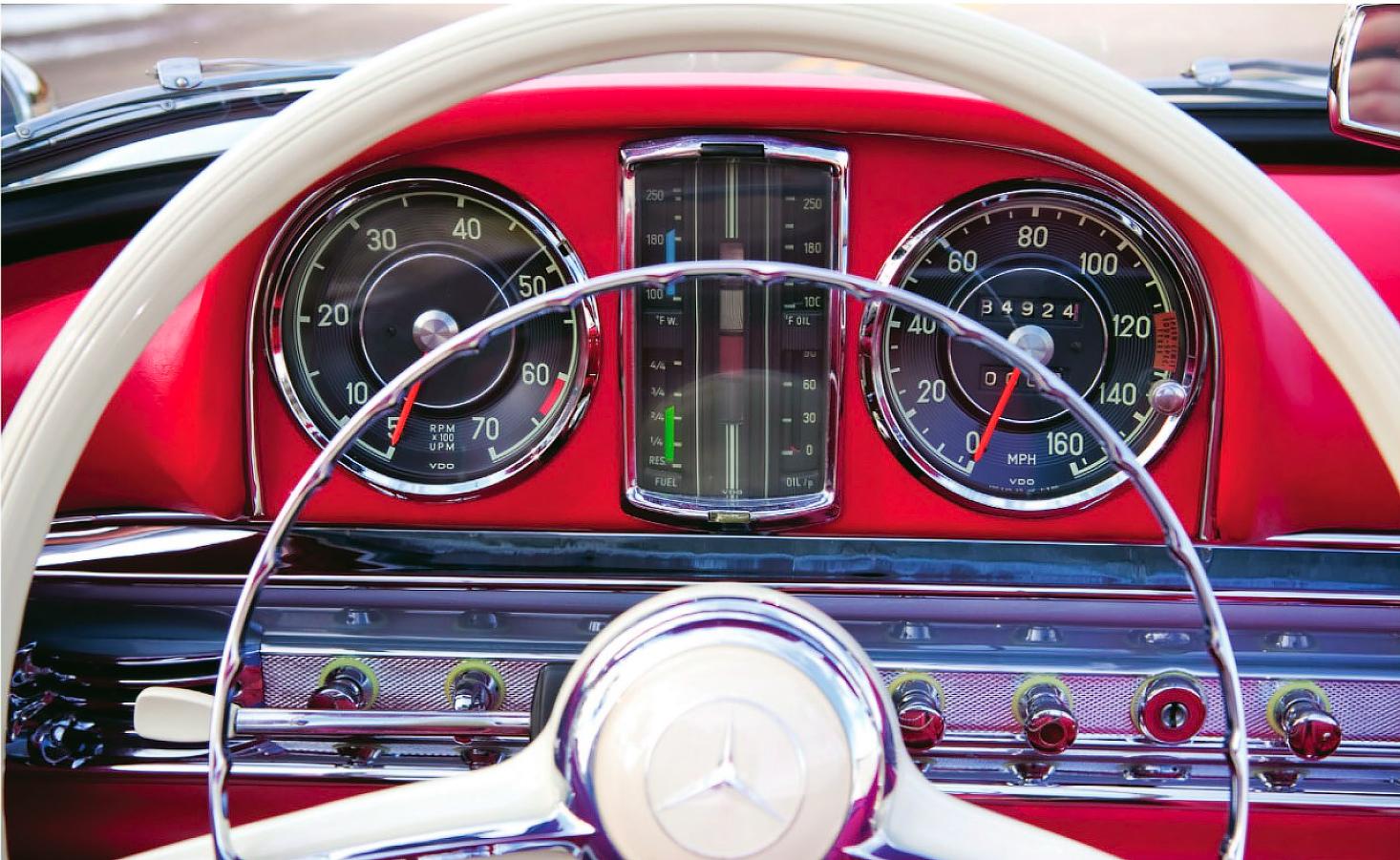 1957 Mercedes-Benz 300SL Roadster W198