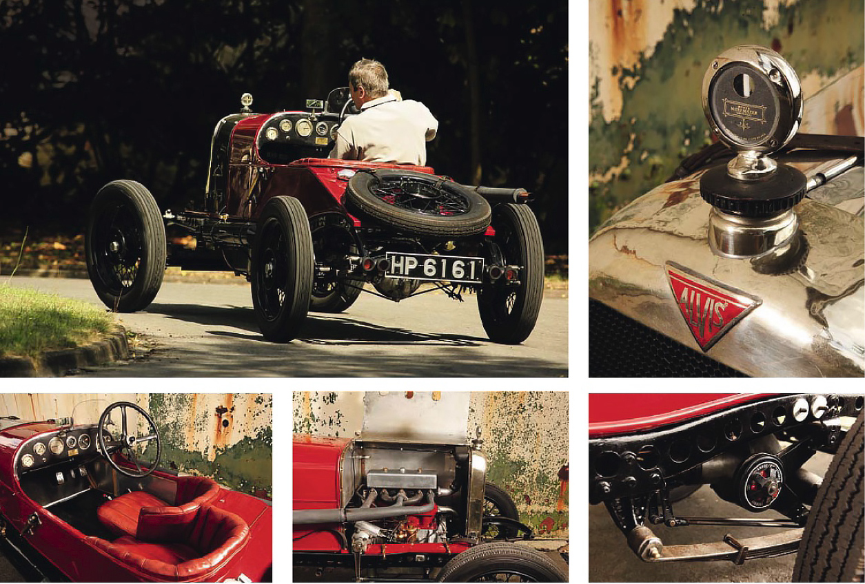 ace-bred models from the early days of Alvis