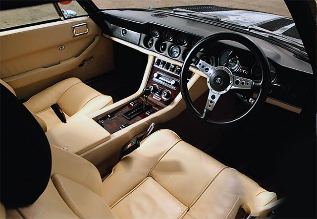 Aston Martin V8 interior
