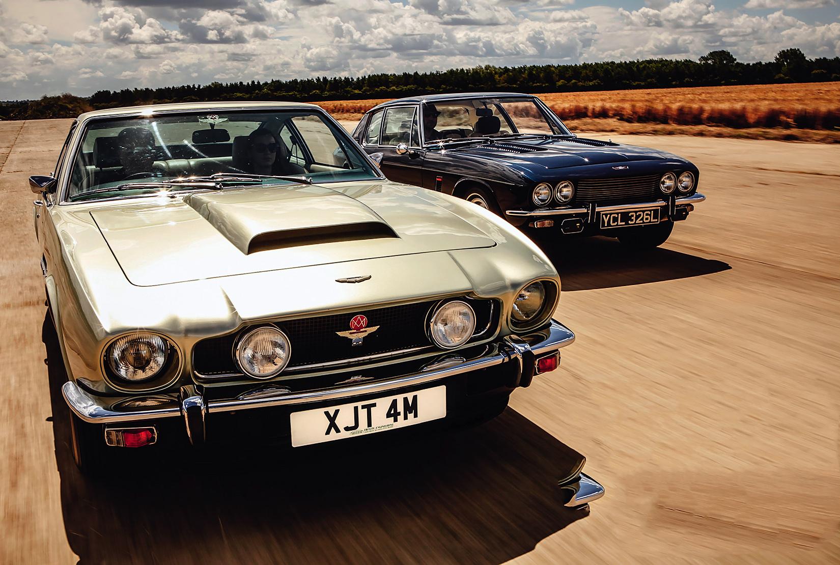 Aston Martin V8 vs Jensen Interceptor III