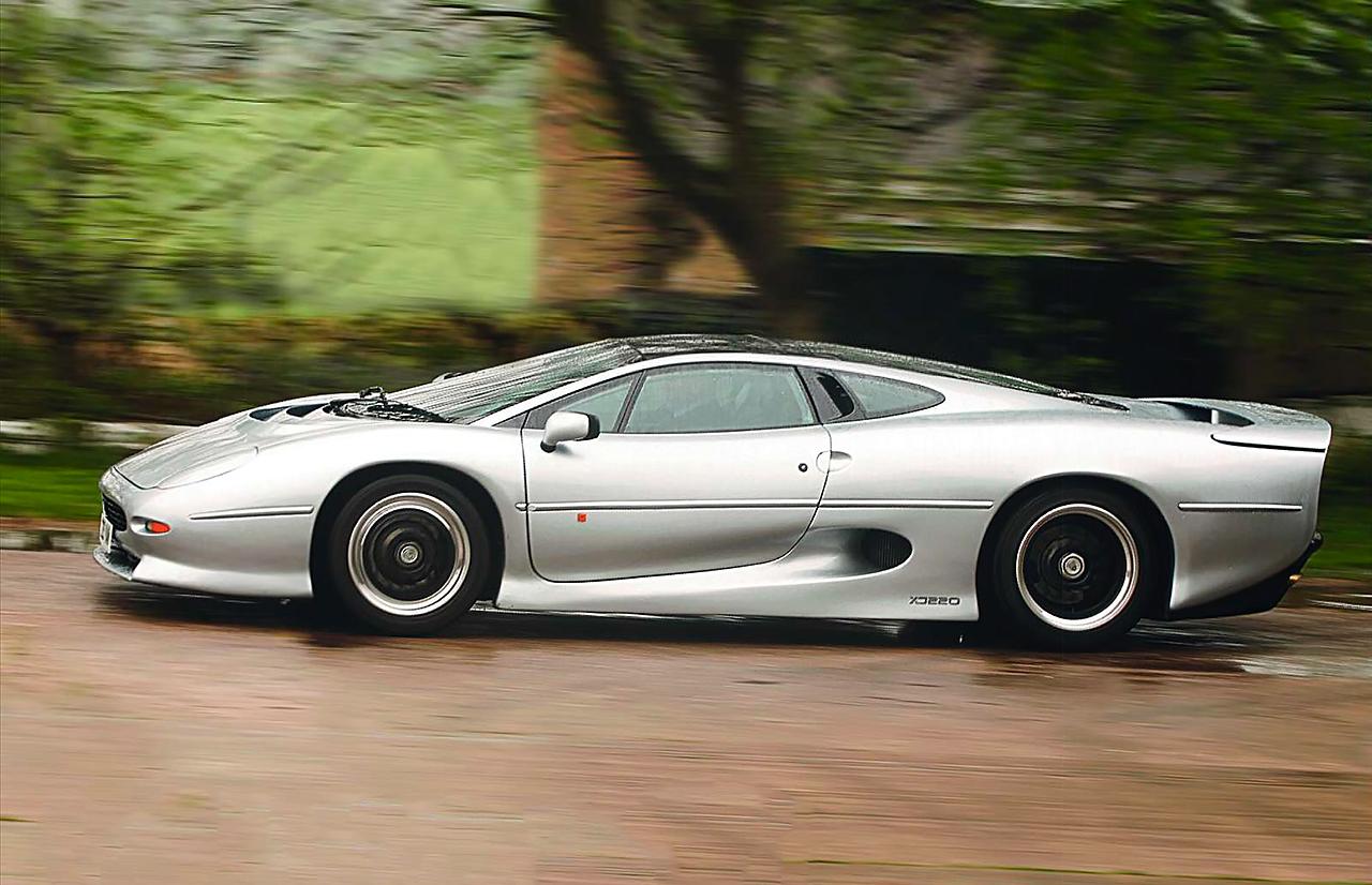Jaguar XJ220 - test-drive