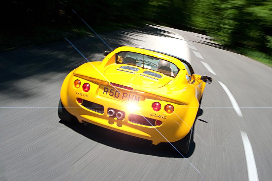 Lotus Elise Series 1 - test-drive