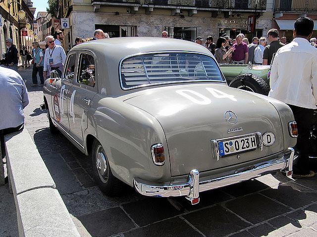 Mercedes-Benz 180D Ponton W120 - 1955 Mille Miglia