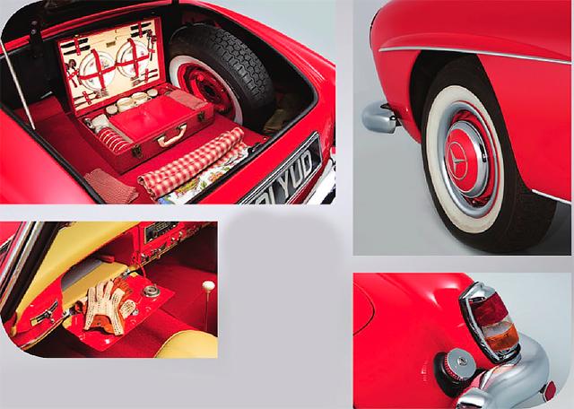Mercedes-Benz 190SL W121 1955-1963