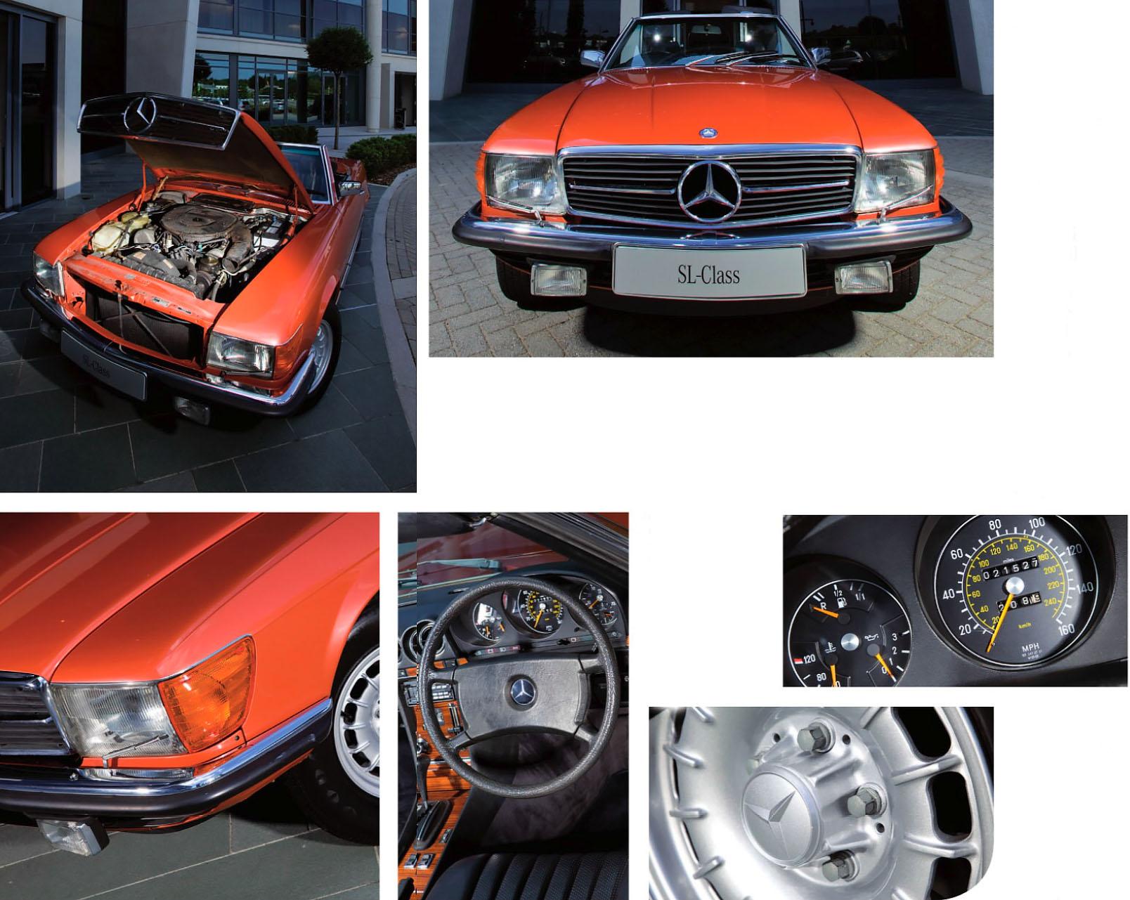 Mercedes-Benz 450SL R107