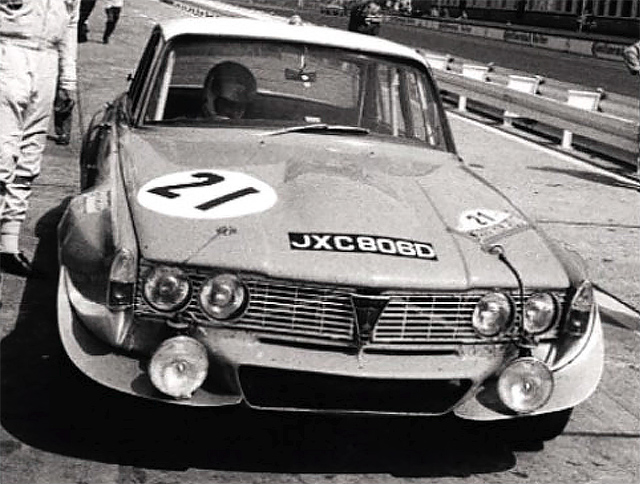 JXC 806D prepares to tackle the Nurburgring, 1970