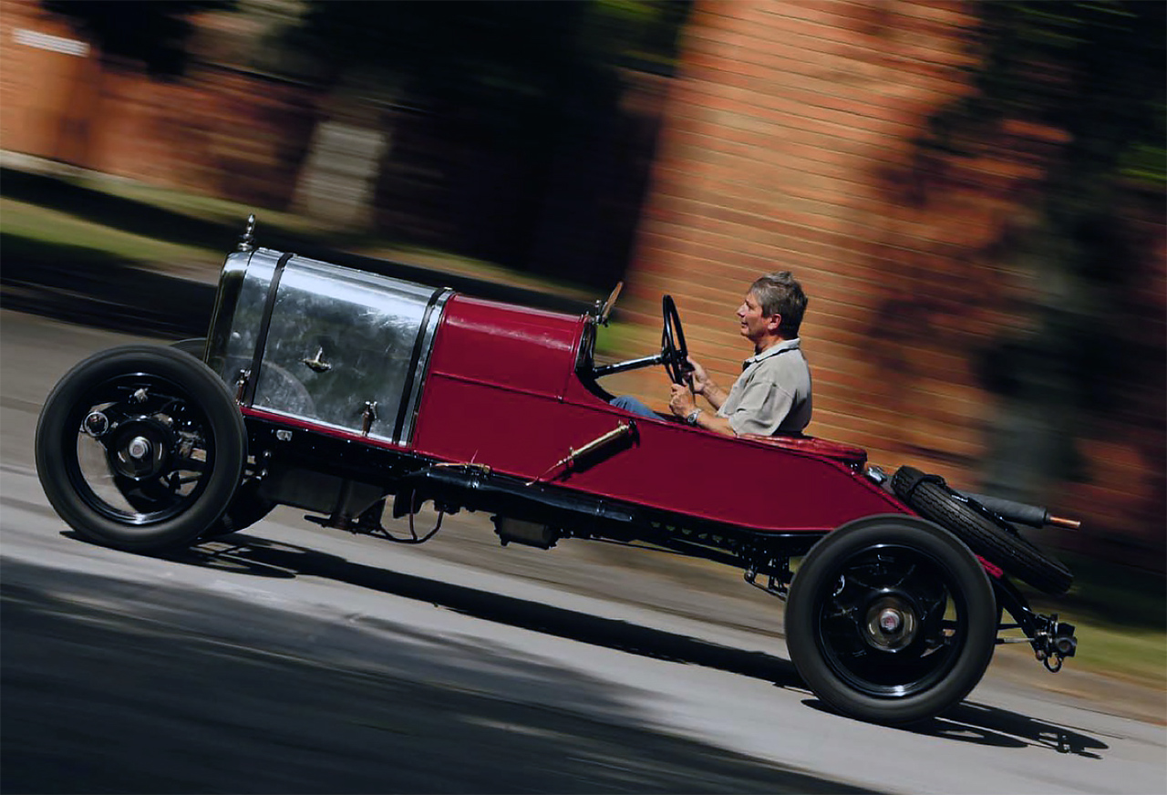 Three vintage, race-bred models from the early days of Alvis