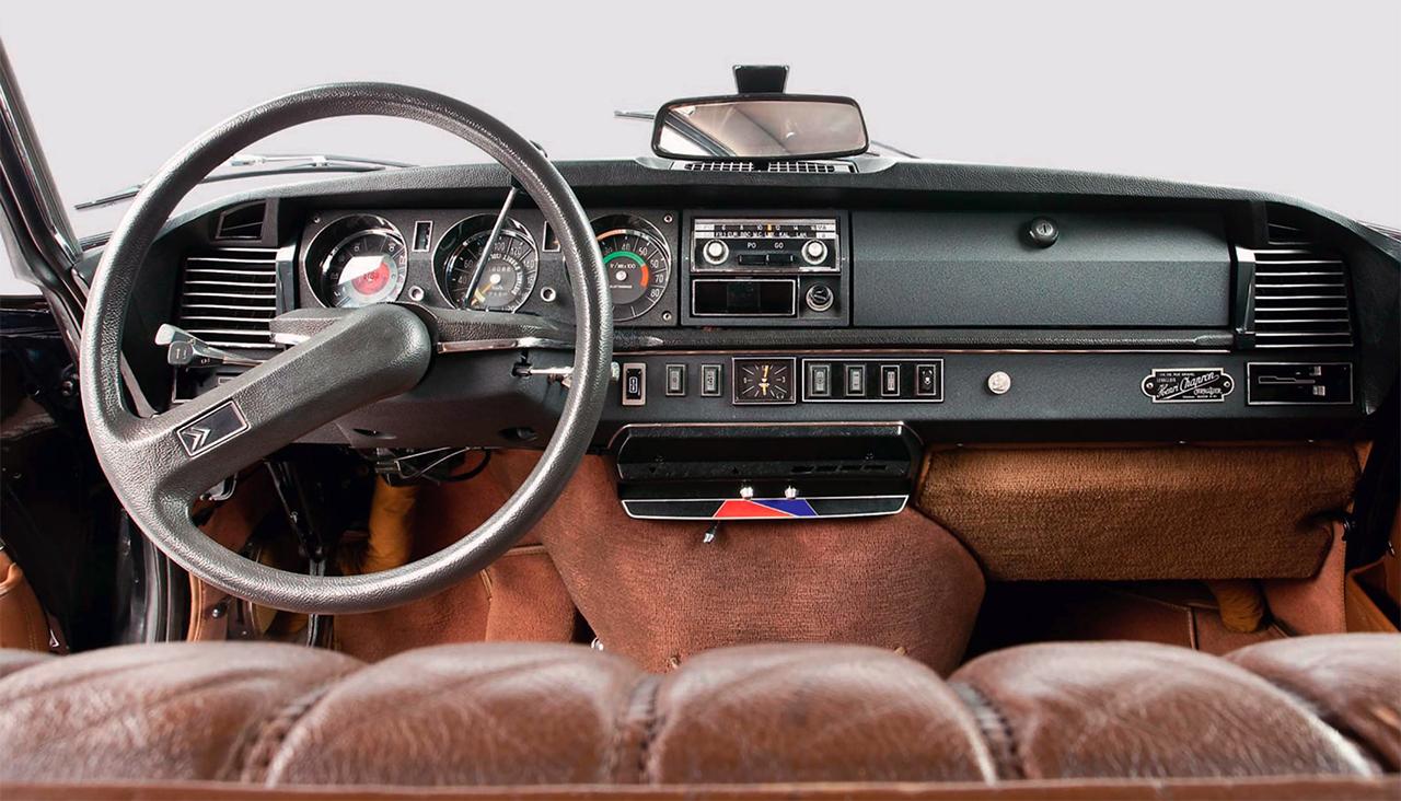 Citroen DS 21ie Prestige 1972 года выпуска от ателье Chapron