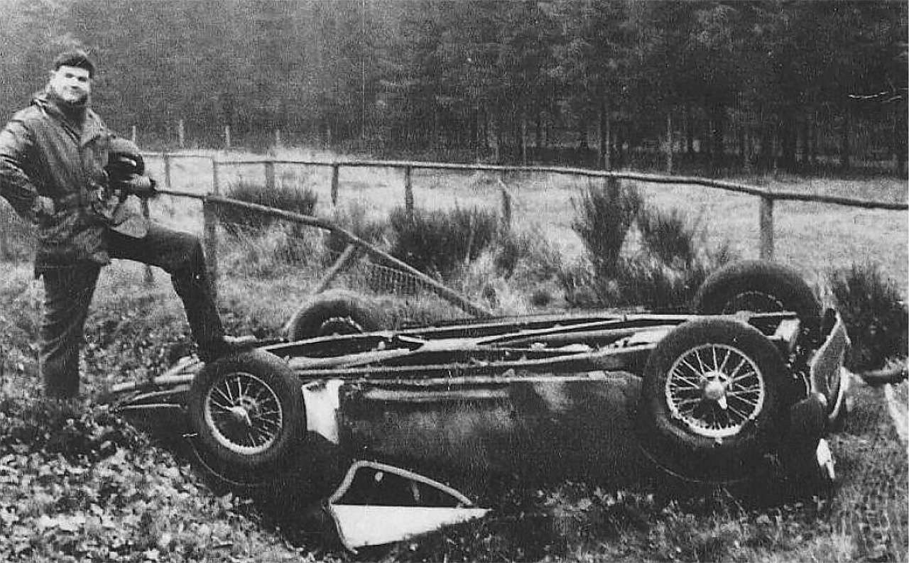 Triumph TR3 Nurburgring in 1958