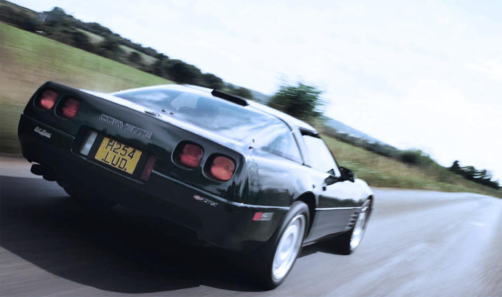 1991 Chevrolet Corvette ZR-1 C4 road test