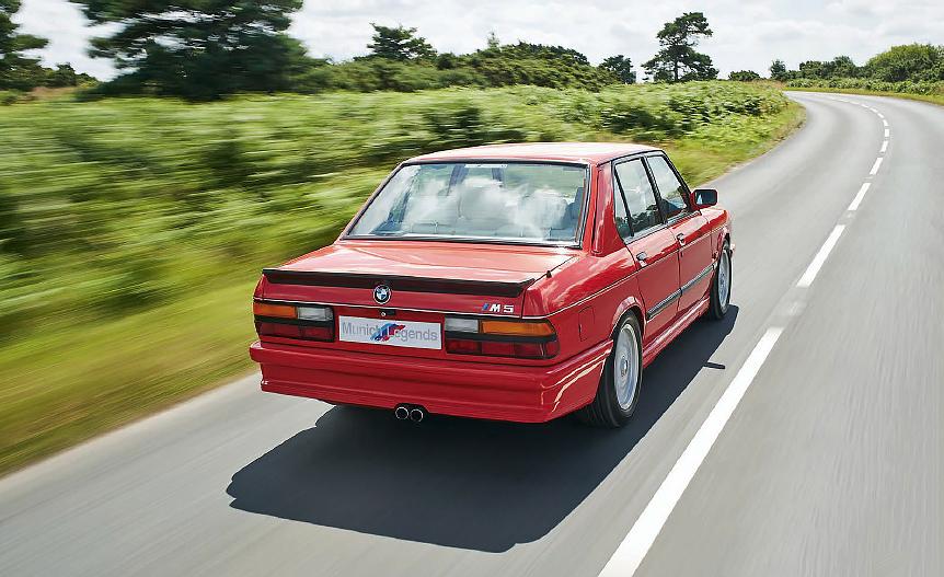 BMW M5 E28 road test
